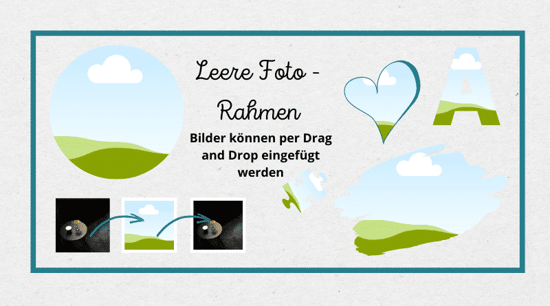 Canva Tutorial - Foto Rahmen