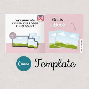 Instagram Vorlage
