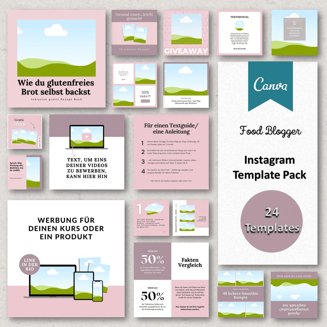 Instagram Vorlagen neu