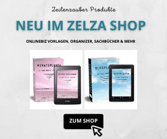 ZEILENZAUBER PRODUKTE BANNER AD