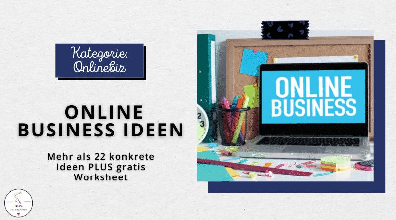Online Business Ideen - Beitragsbild